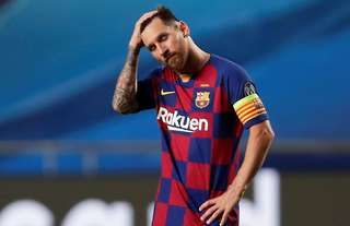 Lionel Messi looks like he's on his way out of Barcelona