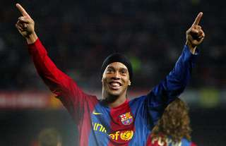 Ronaldinho is the subject of a new biopic