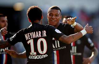 Neymar and Mbappe have been linked with Barca