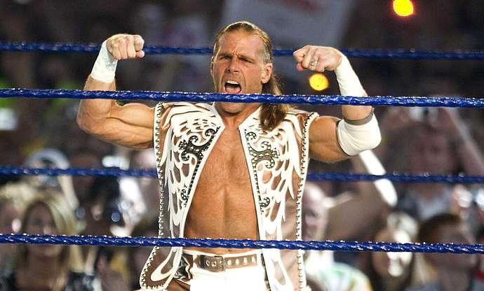 HBK est une légende de la WWE
