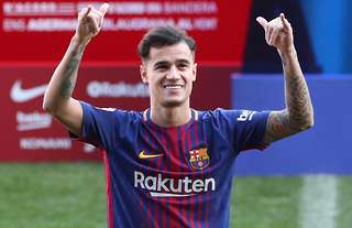 Philippe Coutinho was signed by Barcelona in January 2018