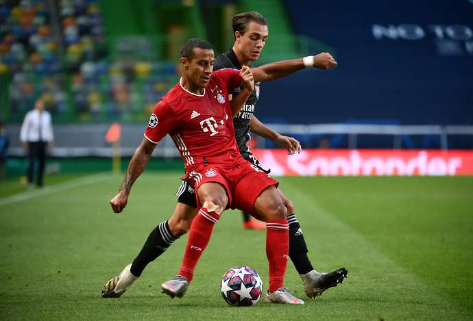Liverpool have been linked with Thiago