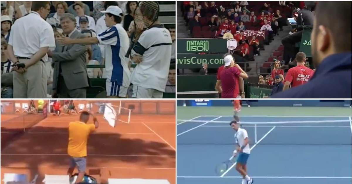 Us Open 9 Times Tennis Players Have Been Disqualified Mid Match After Novak Djokovic Saga Givemesport