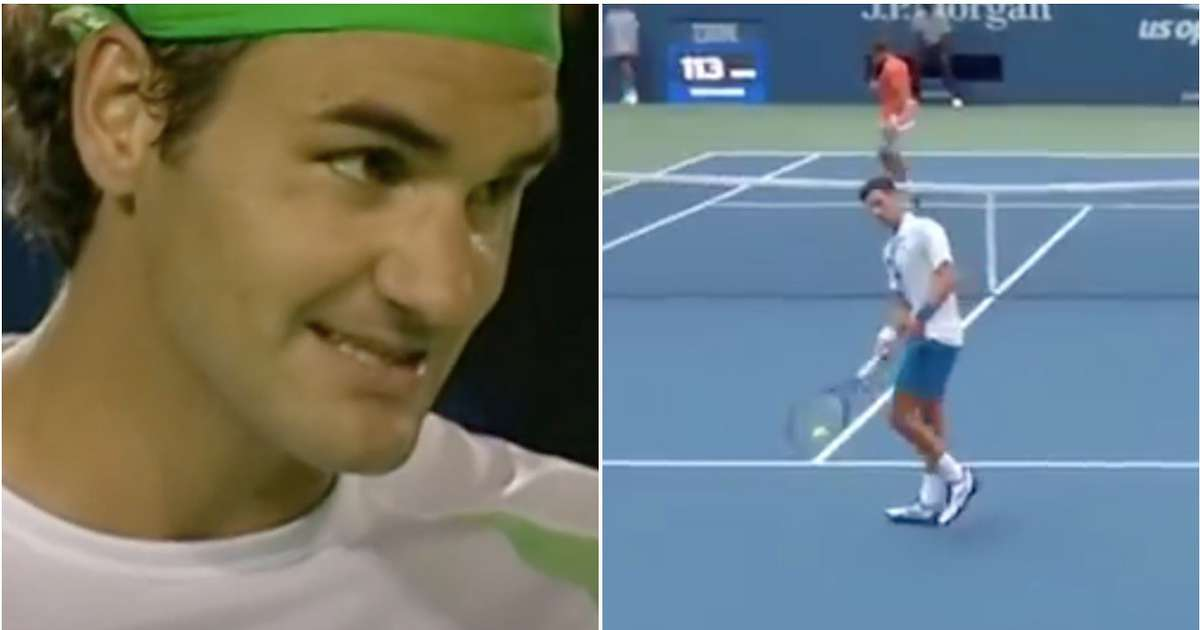 Us Open Roger Federer Wasn T Disqualified Like Novak Djokovic When He Hit A Ball Boy Givemesport