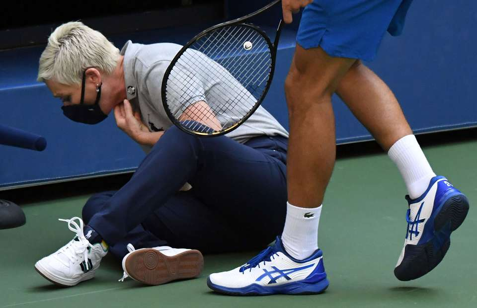Us Open Line Judge Involved In Novak Djokovic Controversy Is Receiving Death Threats Givemesport