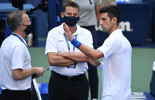 Us Open Match Referee Reveals Exactly What Novak Djokovic Said To Avoid Disqualification Givemesport