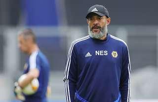 Nuno Santo Europa League training