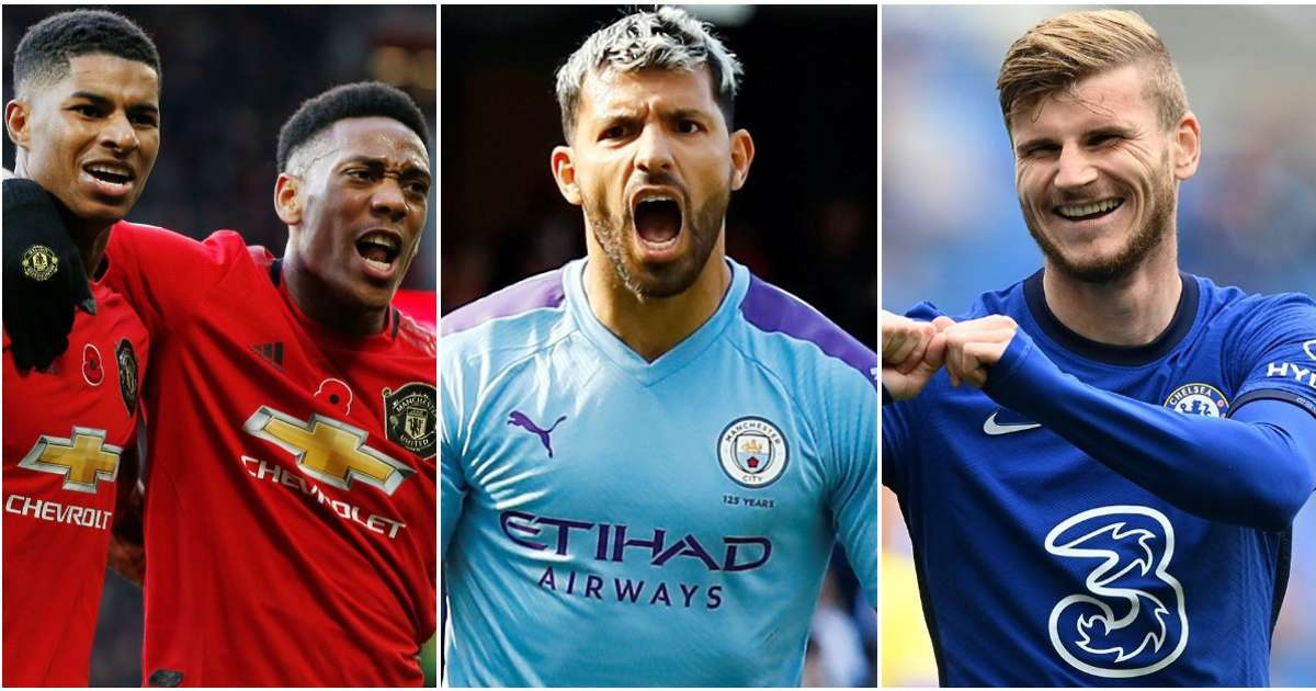 Aguero, Rashford, Werner: Ranking the best strikers from the Premier League's big six - GIVEMESPORT