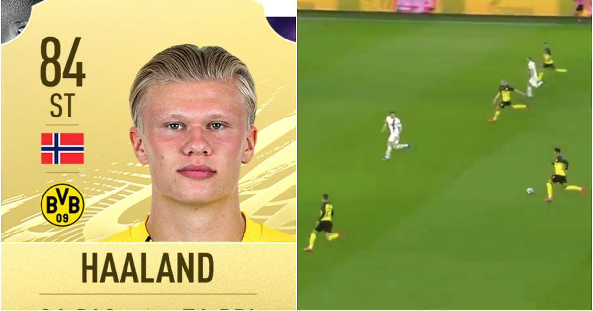 Fifa 21 Player Ratings Ea Make Mistake With Erling Haaland S Massive Upgrade Givemesport
