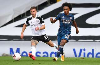Fulham vs Arsenal: Willian dazzles on debut as Gunners start Premier League  season with a win | GiveMeSport