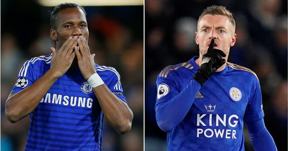 Premier League: Jamie Vardy has now scored more goals than Chelsea legend Didier Drogba   GiveMeSport