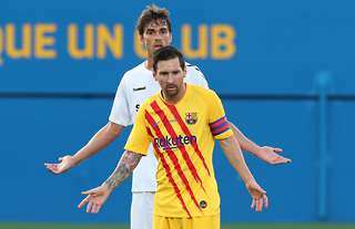 Messi was upset with the treatment he got in Barcelona's friendly