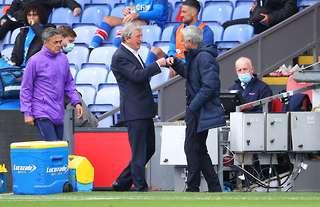 Roy Hodgson and Jose Mourinho