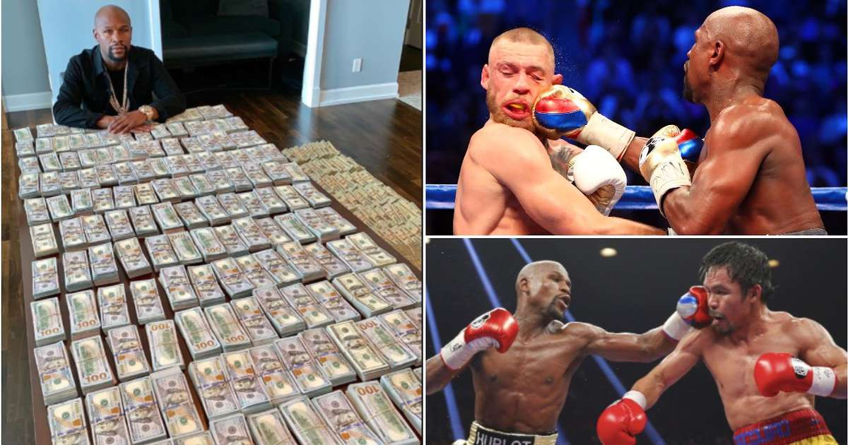 Floyd Mayweather's PPV sales from 2005 to 2017 revealed - and the numbers are staggering