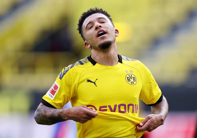 Jadon Sancho To Manchester United Fan Sets Up Gofundme Page To Help Club Sign Winger Givemesport