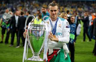 Gareth Bale won the Champions League FOUR times at Real Madrid