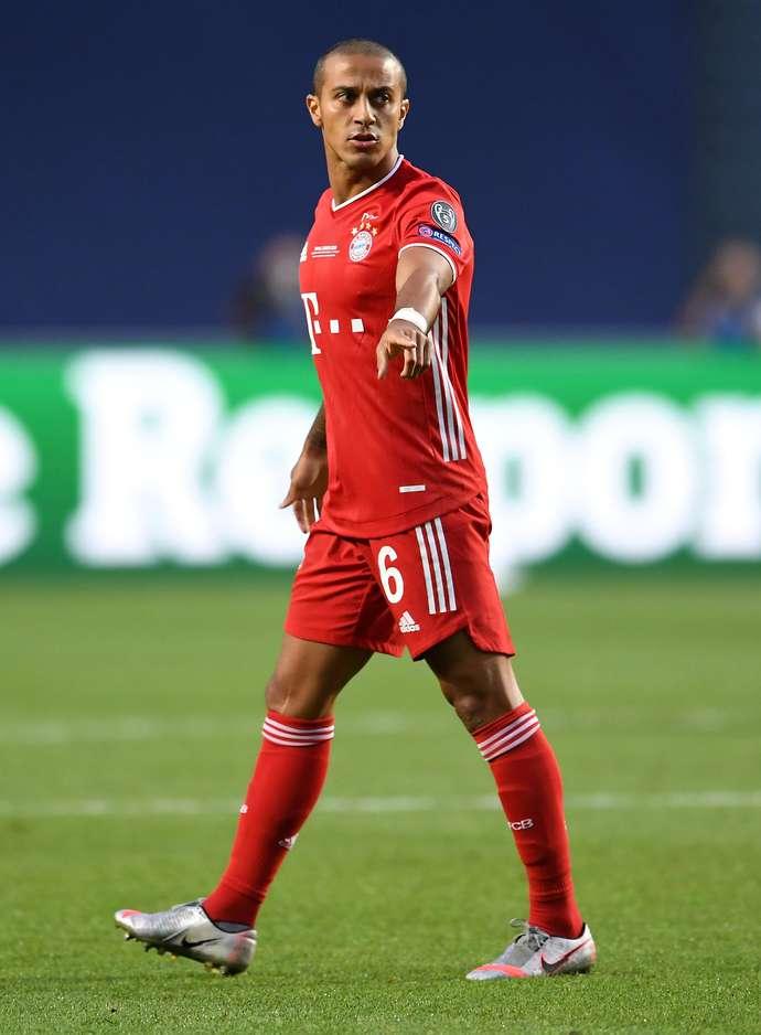 Thiago in action