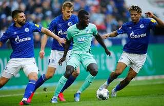 Jean-Clair Todibo in action for Schalke