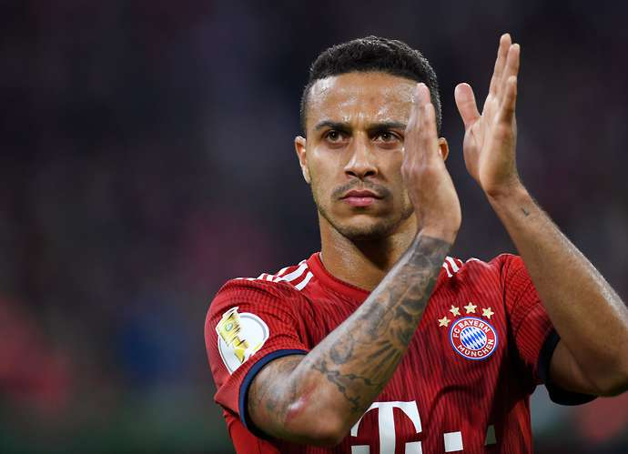 Thiago is on his way to Liverpool
