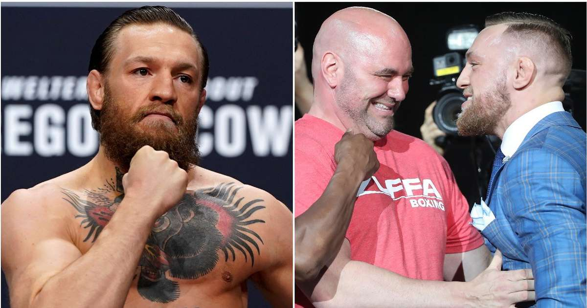 UFC news: Conor McGregor has already spoken to Dana White about making return - GIVEMESPORT