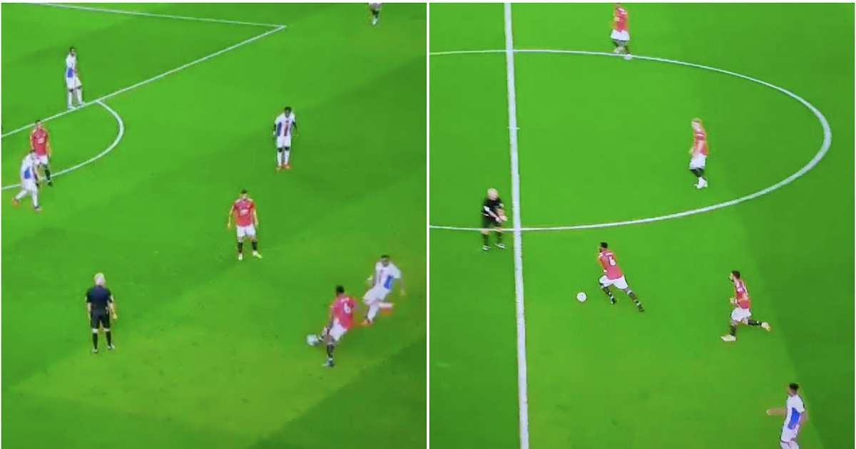 Man Utd 1-3 Crystal Palace: 30-second clip of Paul Pogba during match goes viral - GIVEMESPORT