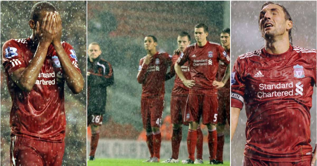 Liverpool's XI that lost to Northampton on this day in 2010 shows how far they've come