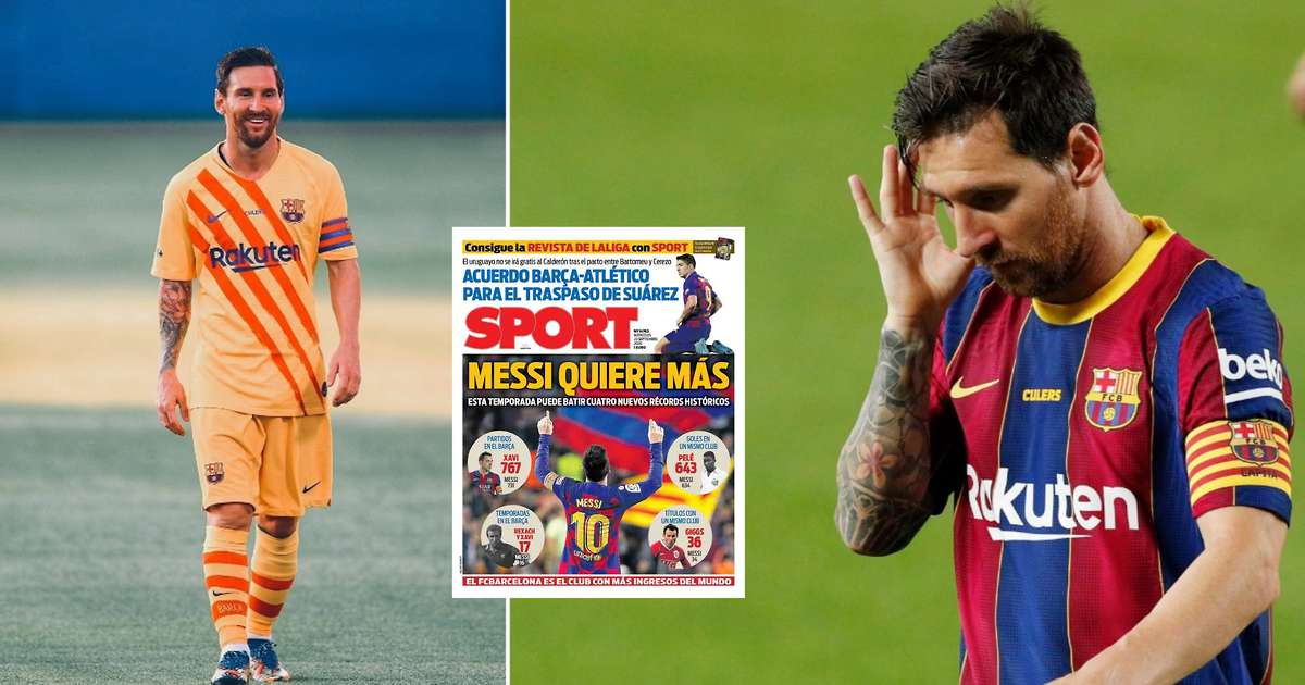 The four incredible records Lionel Messi wants to break at Barcelona this season - GIVEMESPORT