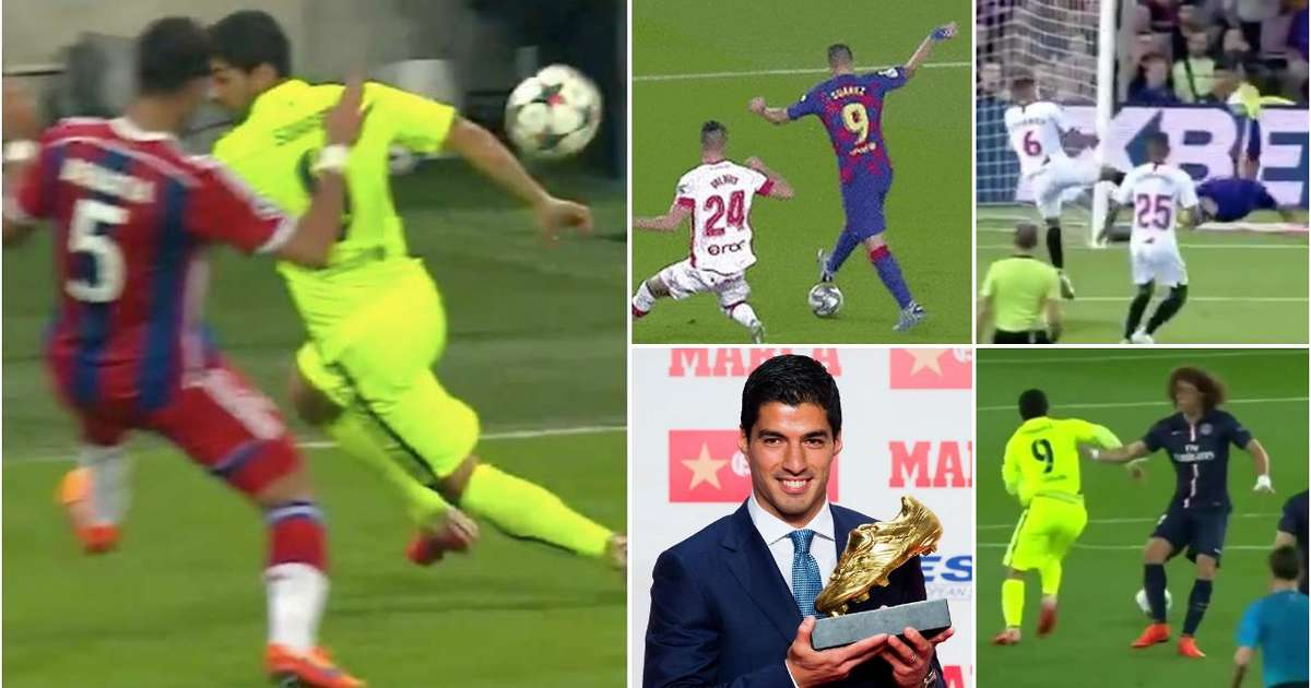 Incredible goodbye video shows Luis Suarez is the third best player of Ronaldo-Messi era