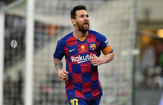 Messi has been praised by football legends