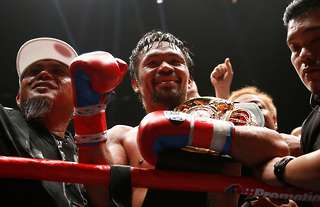 Pacquiao has confirmed his McGregor fight is on