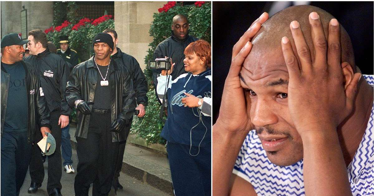 Mike Tyson once had to pay a fan £6.2m for breaking his jaw after asking for an autograph