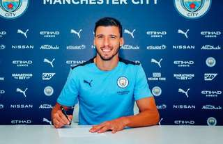 Ruben Dias' most to Man City was officially announced on Tuesday evening