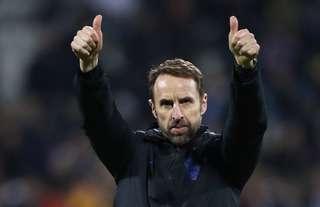 Gareth Southgate gives a thumbs up
