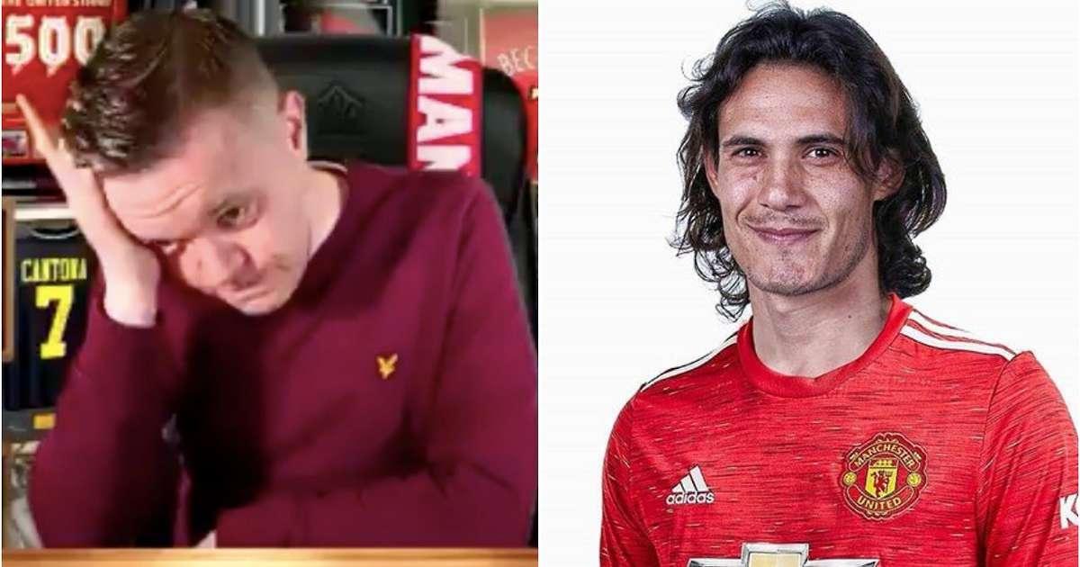 man utd transfer news edinson cavani update sparks passionate video from supporter givemesport man utd transfer news edinson cavani