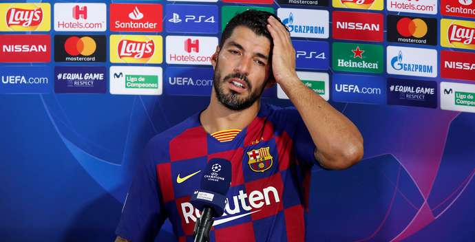 Suarez was booted out of Barcelona