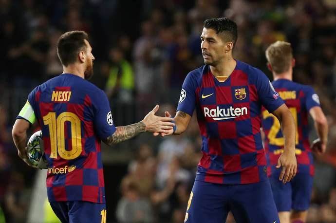 Suarez and Messi played together for six years