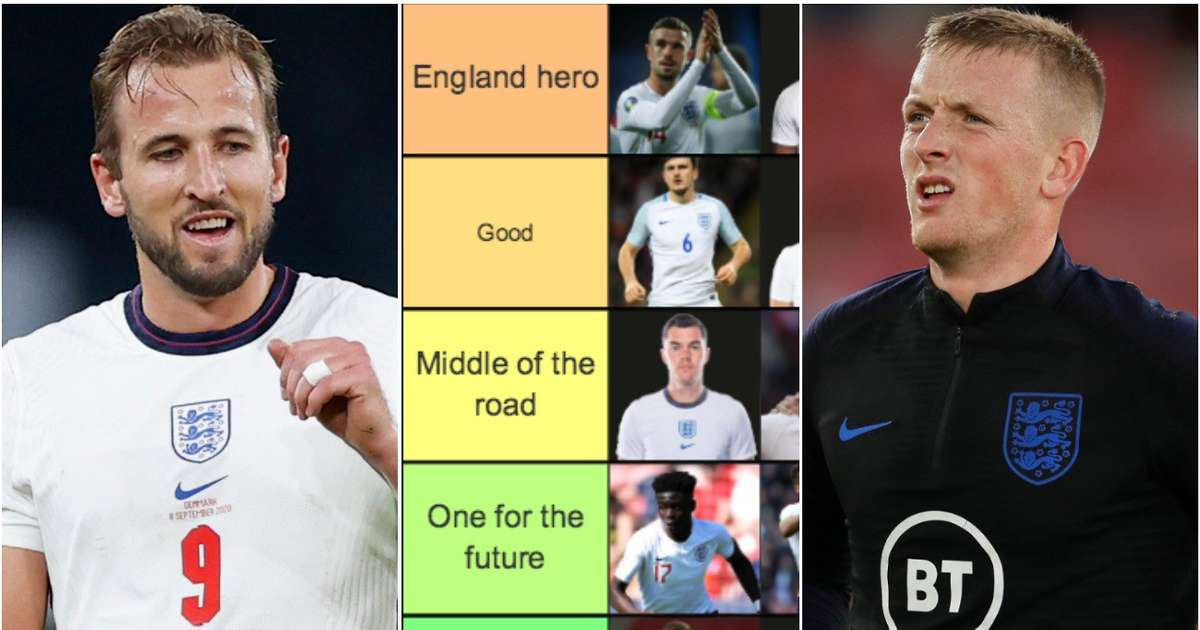 Ranking the current England squad from 'world-class' to 'should be dropped'