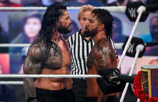 Reigns and Uso aren't finished in WWE yet