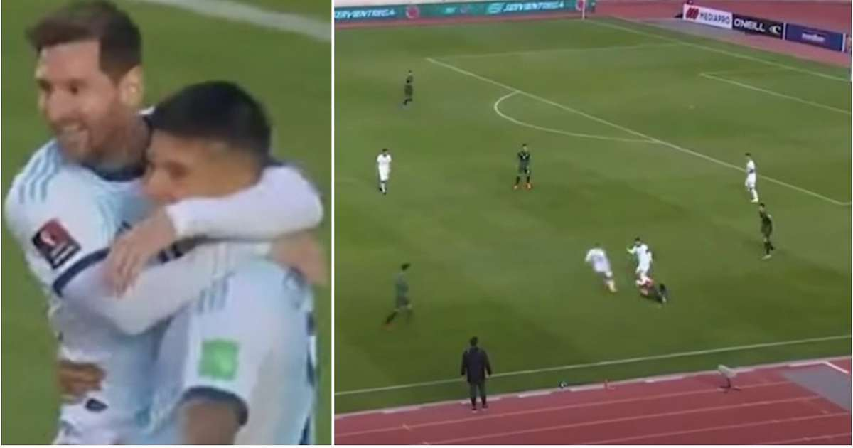 The 'stats won't show Lionel Messi creating Argentina's goal' - but the footage does