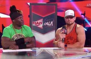 Aj Styles broke character on WWE RAW Talk