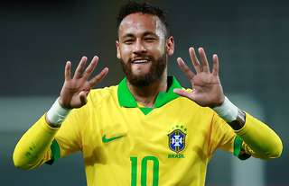 Neymar scored his fourth hat-trick for Brazil in the Peru win.