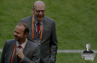 Malcolm Glazer and Ed Woodward
