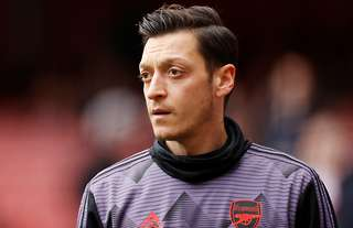 Ozil's time at Arsenal is up