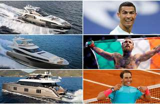 Inside some of the very best luxurious yachts owned by sport's elite