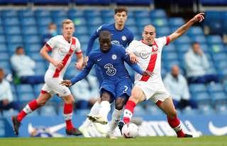 N'Golo Kante versus Southampton