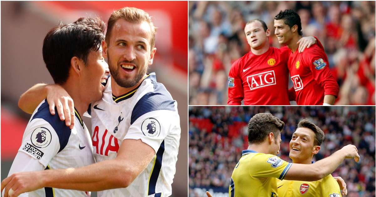 The 14 best goal partnerships in Premier League history after Kane & Son masterclass