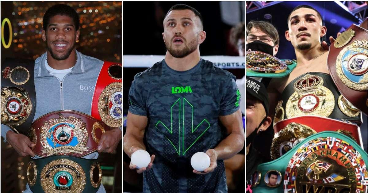 The top 20 pound-for-pound boxers after Teofimo Lopez beats Vasyl Lomachenko revealed