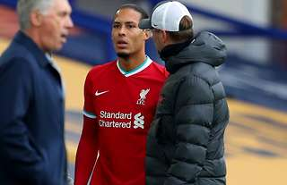 Virgil van Dijk is expected to be out for the season
