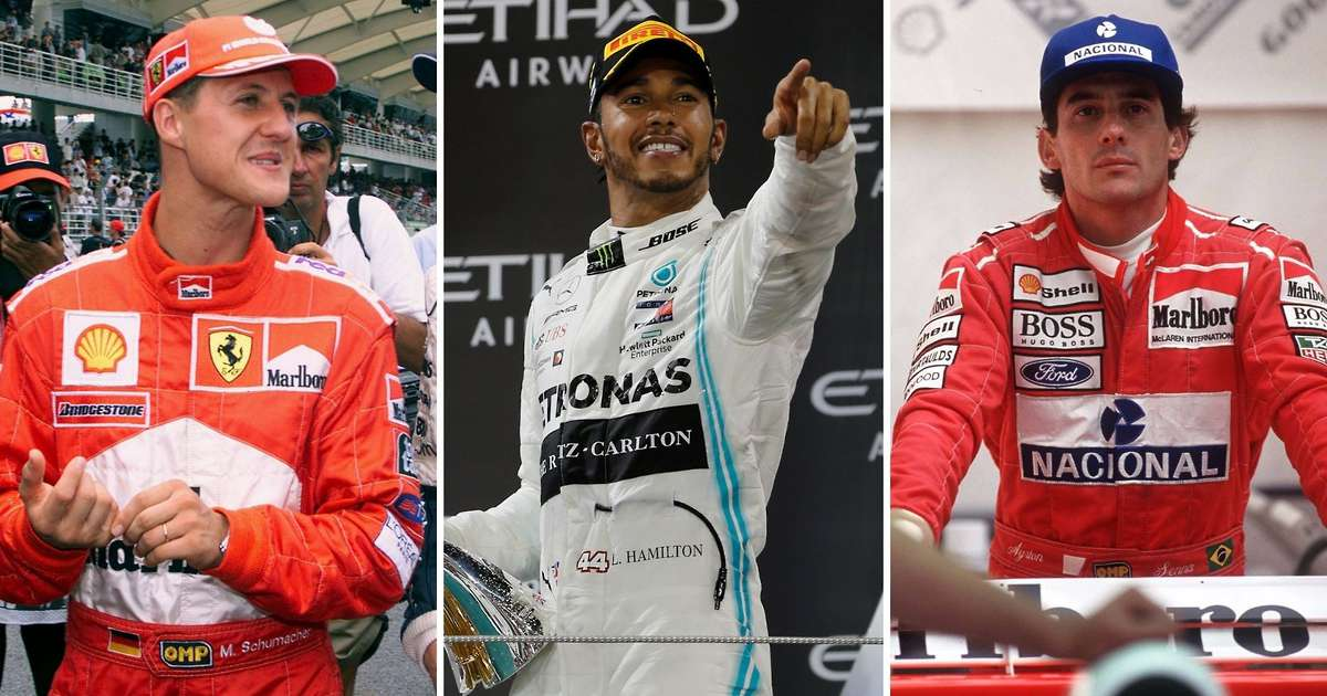 Study reveals the top 10 greatest F1 drivers of all time