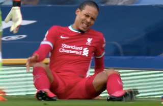 Virgil van Dijk suffered an ACL injury as a result of Jordan Pickford's challenge